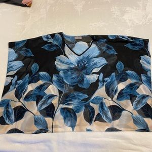 Floral Bathing Suit Cover